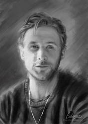 Ryan Gosling by Calaymo