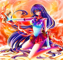 Sailor Mars -- You Will Burn! by eightix
