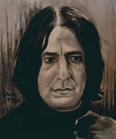 Severus Snape by pikkuclara