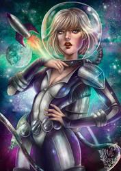 Retro Galaxy by HisakiChan