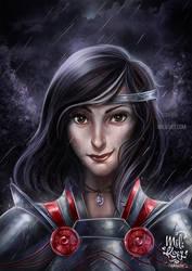 Warrior by HisakiChan