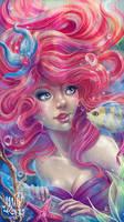 Ariel, the little mermaid by HisakiChan