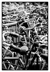 Bicycles by hyperwolfy