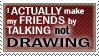 Stamp -Friends- by Zaper3095