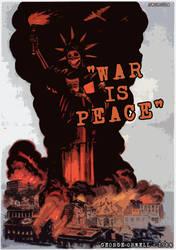war is peace - 1984 by Swoboda
