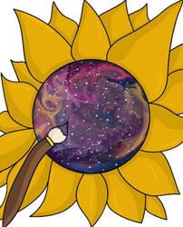 Universe Flower by UniverseQueenLexie