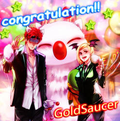 in a game corner-Gold Saucer by hatori0322