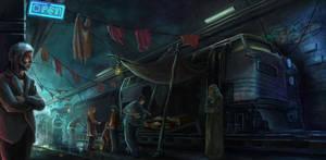 Railway Black Market by Tekuuei