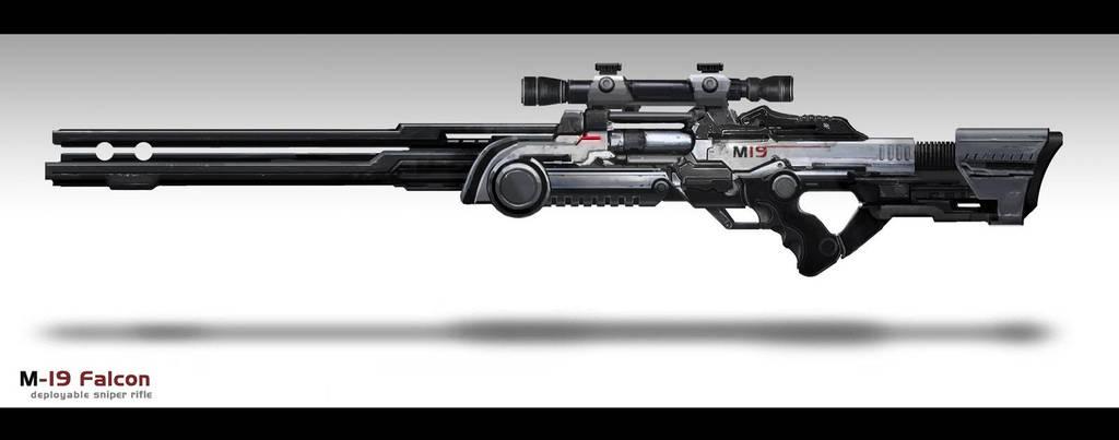 M-19 sniper rifle by Tekuuei