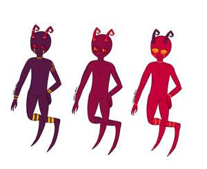 Custom Vort Trio Of Idk by DarkQueen43