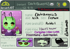 New Id by DarkQueen43