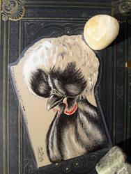 Inktober 2018-5-31 - Chicken by AndromedasWitchery