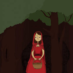 little red riding hood by humya