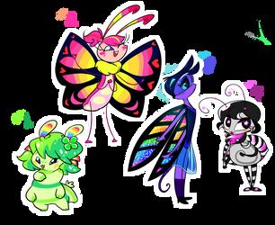 OPEN OTA Cutie Bug Adopts #2 by QT-Galaxy