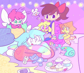 Pajama Party by QT-Galaxy