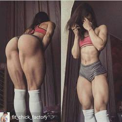 Real squat girl by Iczerman