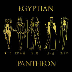 Egyptian Pantheon Batch 1 by blueToaster