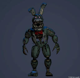 Nightmare Bonnie by Delirious411