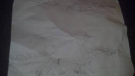Sketchbook 25 - Deep Sea Dragon by xmdz