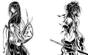 EUIKO and XATOCHI by Agacross