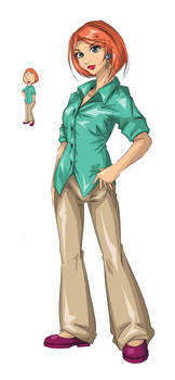 Lois Griffin by Agacross