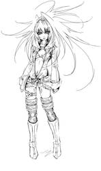 Black Rock Shooter a7 by Agacross