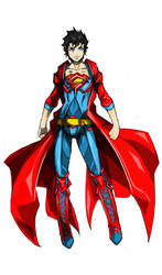 Superman by Agacross