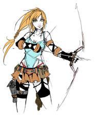 Lara Croft by Agacross