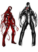 Carnage and Venom by Agacross