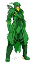 Green Arrow by Agacross