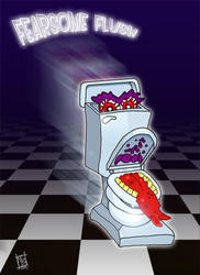 Ghostbusters - Fearsome Flush by Bleezer