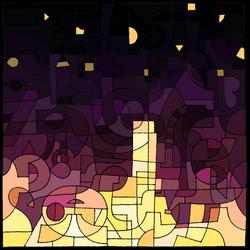 Dark Night (happy birthday DA) by dragnilu
