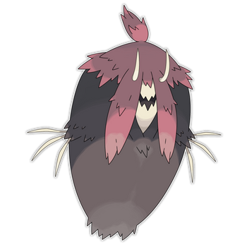 UB-07 Remnant - Gauntress by Smiley-Fakemon