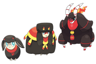 Fire Starter Fakemon - Commission by Smiley-Fakemon