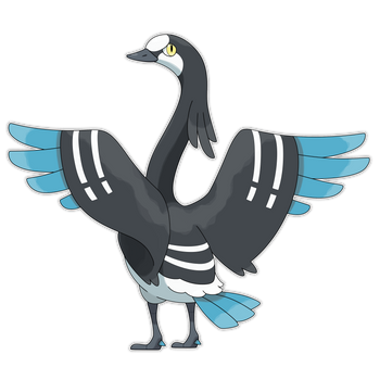 Fowlant, Migrating Fakemon by Smiley-Fakemon
