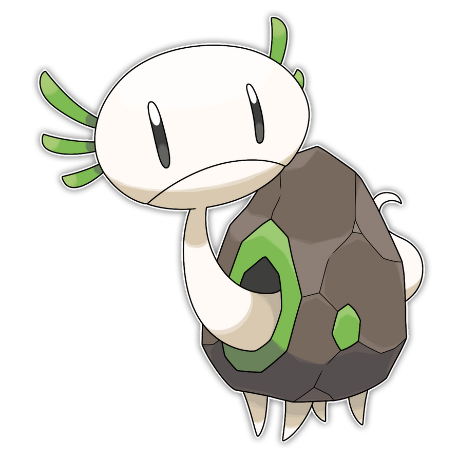 Olmold, Cave Dweller Fakemon by Smiley-Fakemon