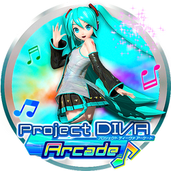 Hatsune Miku Project DIVA Arcade v2 by POOTERMAN