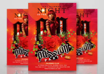 Hot Summer Passion Night Party by n2n44studio