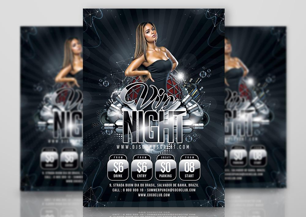 Vip Night Flyer by n2n44studio