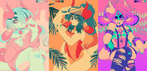 Ashiji Color Palettes 033117 by QueenAshi