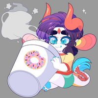 Send Ashiji all of your Coffee by QueenAshi