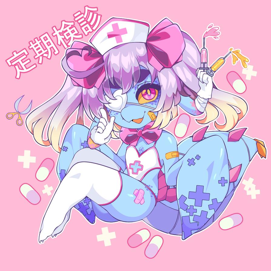 Nurse Cteno Smaller by QueenAshi