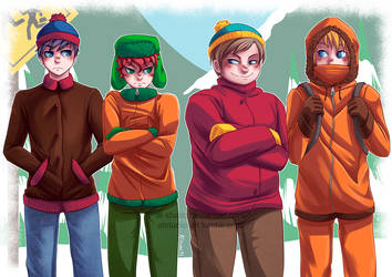 South Park by AT-Studio