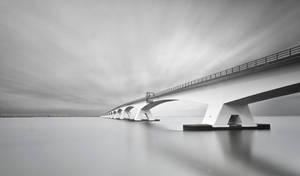 Zeeland Bridge by GeorgeGoodnight