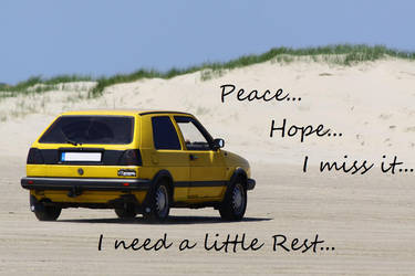 I need a little rest... by GrauerWolf