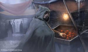 Village Thief by MarkTarrisse