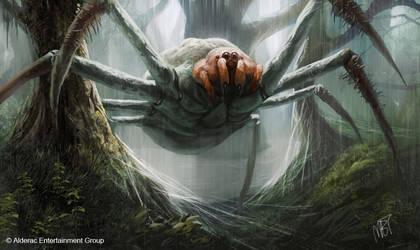 Giant Spider by MarkTarrisse