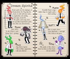 Dreamcatcher OCT - Dream Spirits by Jettersfreak