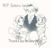 R.I.P Satoru Iwata by RedKyuren
