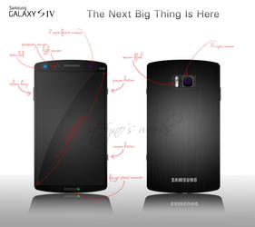 My Galaxy S4 concept by stefyno